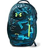 Under Armour Hustle 4.0 Backpack, Teal Vibe (417)/Lime Light, One Size Fits All