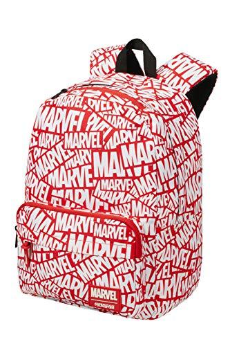 American Tourister Mochila Infantil, Multicolor (Marvel Logo)