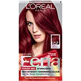 L'Oreal Paris Feria Multi-Faceted Shimmering Permanent Hair Color, R57 Cherry Crush (Intense Medium Auburn), 1 kit Hair Dye