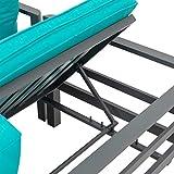 greemotion Lounge-Set Lago, Gartenmöbel-Set aus Aluminium in Anthrazit - 4