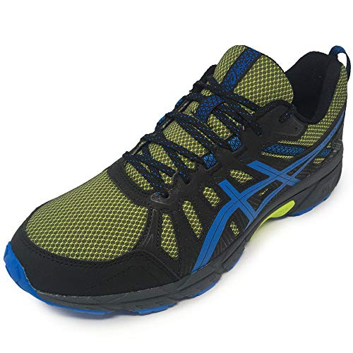 ASICS Gel-Venture 7, Zapatillas Deportivas para Hombre, Neon Lime/Directoire Blue, 43.5 EU