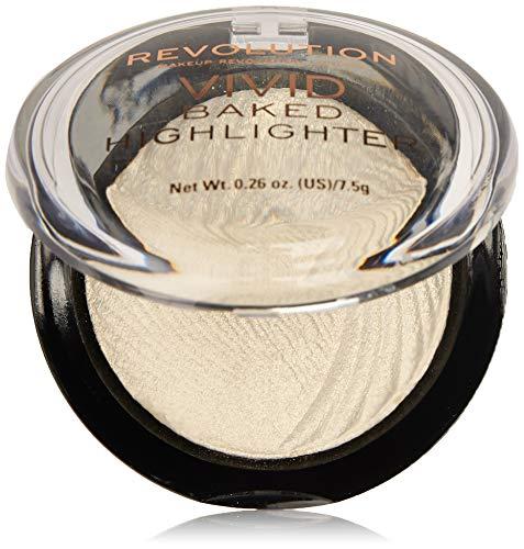 MakeUp Revolution Vivid Baked Highlighter   Versterkt je gezichtscontouren met een glanzende finish