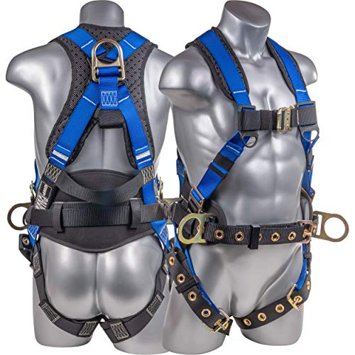 Palmer Safety Fall Protection Full Body 5 point...