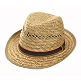 Black Jungle Chapeau de Paille KARAKOL - Beige - L