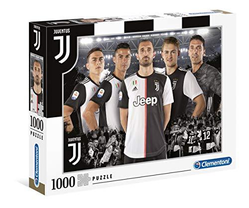 Clementoni - 39529 - Puzzle Juventus 2020 - 1000 Pezzi - Made In Italy - Puzzle Adulti - Puzzle...