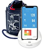 iHealth Ease Wireless Upper Arm Blood Pressure Monitor for Apple and Android with Adult/Large Cuff...