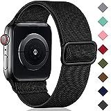 Oielai Solo Loop Correa de Compatible con Apple Watch 44mm 42mm 38mm 40mm,...