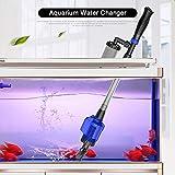 Fesjoy Aquarium Gravier Cleaner Efficace Électrique Automatique Vide Aspirateur Changeur D'eau Flexible Fish...