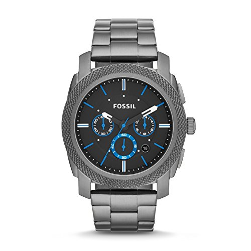 Fossil Men's Machine Chrono Quartz Stainless Chronograph Watch,...