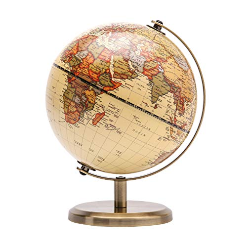 Exerz Globe terrestre 14 cm - Décoration éducative/géographique/Moderne...