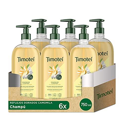 TIMOTEI Champú Manzanilla Golden Reflections 750 ml - Paque