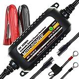 MOTOPOWER MP00205C Chargeur de Batterie Automatique 12V 800mA - Charger, Entretenir et optimiser Les...