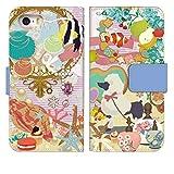 スマホケース 手帳型 iPhone XR ケース 手帳 かわいい 花柄 動物 エレガント デザイン 0013-D.……