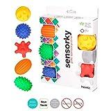 Sevira Kids - Coffret de 5 balles sensorielles - massage - Jouet d'éveil...