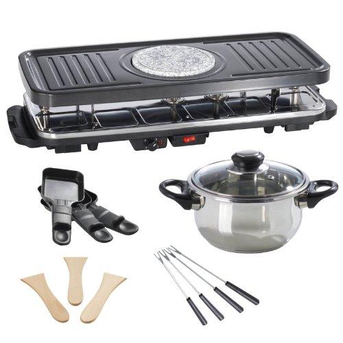 TV - Unser Original 02460 Gourmet Maxx Raclette- und Fondue Set