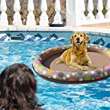 DaJun Dog Swimming Pool Pet Toys - Dog Pool Float raft Safe for Dogs and Pets
