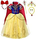 Romy's Collection Girls Snow White Princess Costume Dress Up Set, 3-4