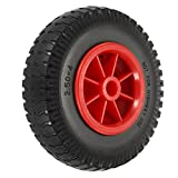 Lixada 1pc 8' / 10' Puncture-Proof Tire Wheel for Kayak Canoe Trolley Cart Replacement Tire (1pc8inch)
