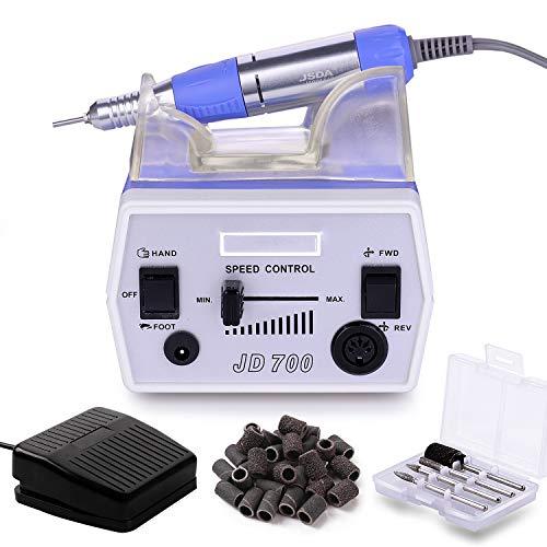 Makartt Nail Drill Electric Nail File Machine JD700 Professional 30000RPM Manicure Drill...