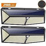 VOOE Lampe Solaire Extérieur 288 LED [2020 USB et Solaire charge ]Lumière...