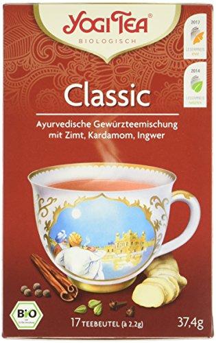 Yogi Tea Classic Bio, 3er Pack (3 x 37,4 g)