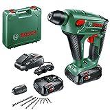 Perforateur sans fil Bosch - Uneo Maxx (Livré avec: 2 batteries 2,5 Ah;...