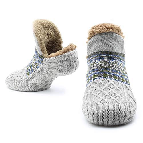 CityComfort Slipper Fluffy Socks for Women Calzini da uomo Calzini da lavoro in maglia di lana...