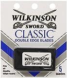Schick Wilkinson Sword Double Edge Single Razor Cartridge, 5 Blades (6 Pack)