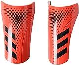 adidasPredator 20 Club Shin Guards (unisex-adult) Black/Active Red Small