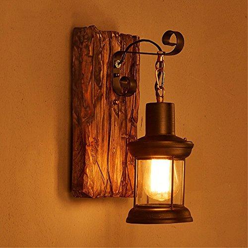 LOFT abbigliamento vintage in legno massiccio American Arts Lanterna bar caffetteria...