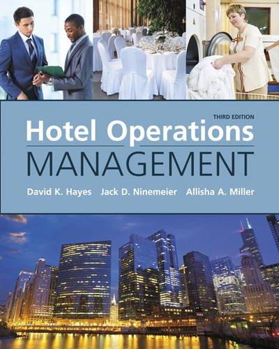Hotel Operations Management [Lingua Inglese]