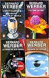 Bernard Werber, lot 4 livres: L'encyclopédie du savoir relatif et absolu / L'Ultime...