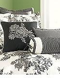Martha Stewart Collection Midnight Trellis 3 Piece Decorative Pillow Set