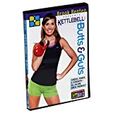 GoFit Brook Benton Butts & Guts Kettlebell Workout DVD - Home Workout Offers 65 Minutes of Intense Exercise That Improves Cardio, Power, and Strength
