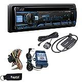 Alpine CDE-172BT CD Receiver with Bluetooth + SiriusXM Satellite Tuner & SWI-RC Steering Wheel Control Interface