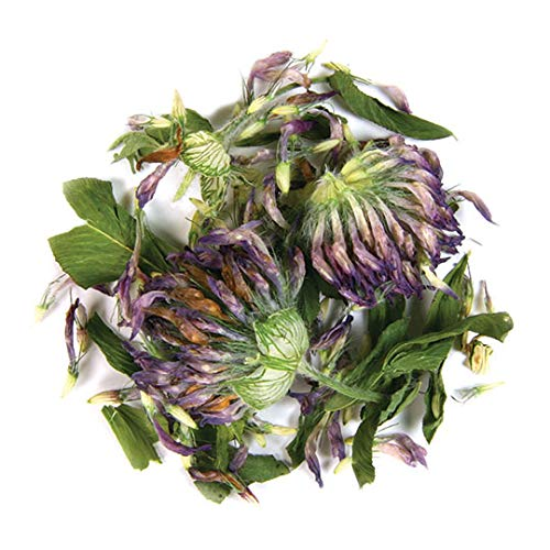 Frontier Co-op Red Clover Blossoms Whole, Certified Organic, 1 lb. Bulk Bag