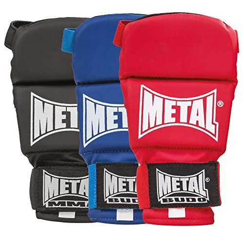 METAL BOXE Guanti Competition ju Jitsu Mista, Unisex, MB488, Nero, M
