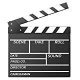 Neewer 12''X11 '' / 30cm X 27cm Film Slateboard Clap en Bois Directeur