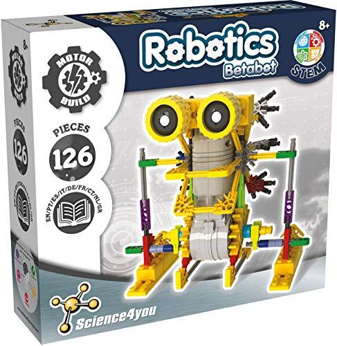 Science4you Robotics Betabot - Kit Robotica para Niños con 126...