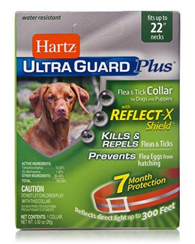 Hartz UltraGuard Plus Reflective Orange Flea &...
