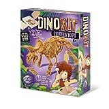 Buki France- Triceratopo Dino Kit da Scavare, Multicolore, 439TRI