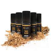 Vaps'Premium - E-liquide Tabac Blond - 5 x flacons de 10 ml - 00 mg - Fabrication française - Recharge Liquide Cigarette électronique - Sans nicotine ni tabac
