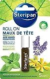 STERIPAN - Roll-On Maux De Tête - Relaxant & Stimulant - Favorise La Détente Et La Concentration - Huiles Essentielles 100 % Pures & Naturelles - 5 ML