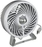 Chillout 2-Speed Personal Fan, Small, Grey/White
