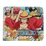 Portefeuille Bande Dessinée Japonaise One Piece Luffy Law Ace Portefeuille Courte Bourse...