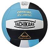 Tachikara SV5WSC Sensi-Tec Composite High Performance Volleyball (Powder Blue/White/Black) - SV5WSC.PBWB