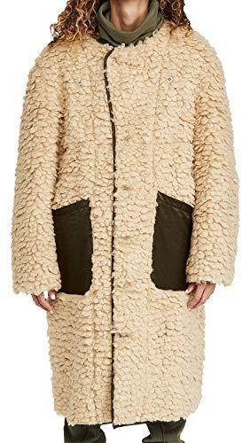 51mZOUnq55L Shell: 100% polyester Lining: 58% cotton/42% rayon Fabric: Heavyweight, non-stretch sherpa