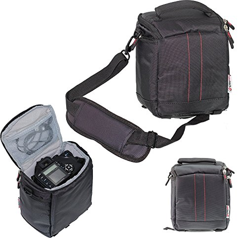 Navitech London デジタル一眼レフボデイ用カメラ持ち運びケース (Canon EOS Kiss X7  / Canon EOS 7D Mark II / Nikkon D750 24-120 VR / Nikkon D5500 / OLYMPUS OM-D E-M10 EZ / Nikkon D7200 / Canon EOS 5Ds R) (OLYMPUS OM-D E-M10 EZ)