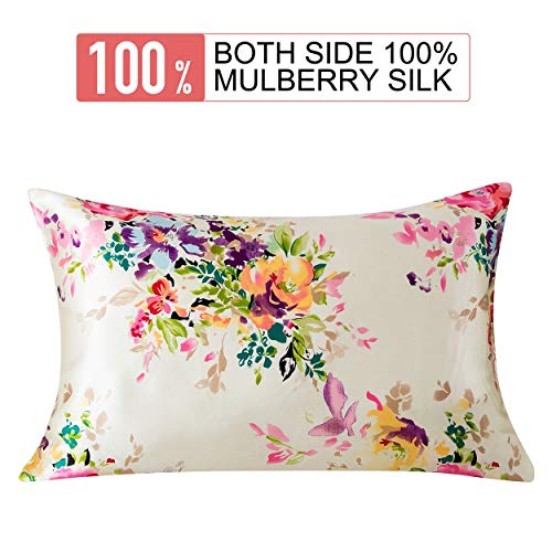 SLPBABY Silk Pillowcase for Hair and Skin with Hidden Zipper...