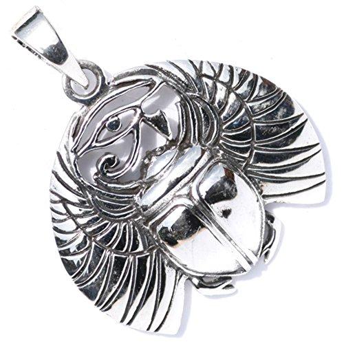 Amuleto colgante de plata
